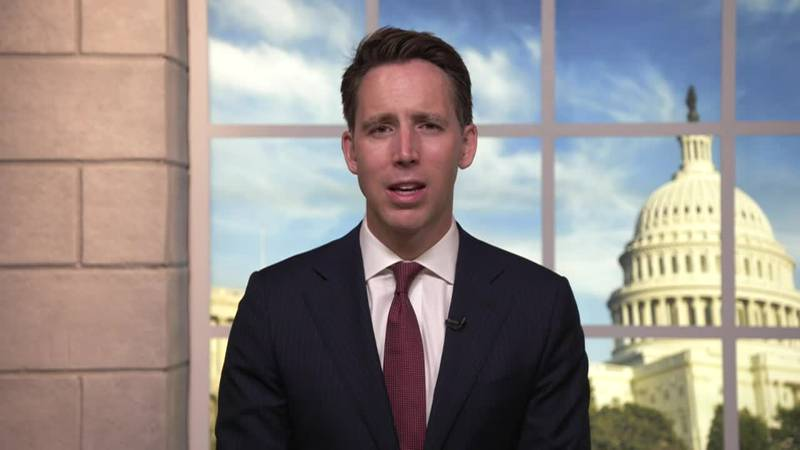 Senator Josh Hawley discusses the passing of the bill to ban TikTok on government devices.