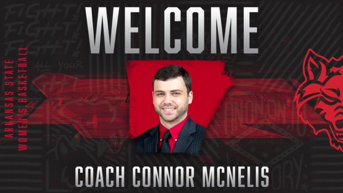McNelis joins A-State after a two-year stint as an assistant at Nicholls State under head coach...