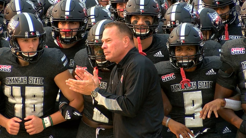 Butch Jones' Red Wolves prepare to hit the field vs. Memphis.