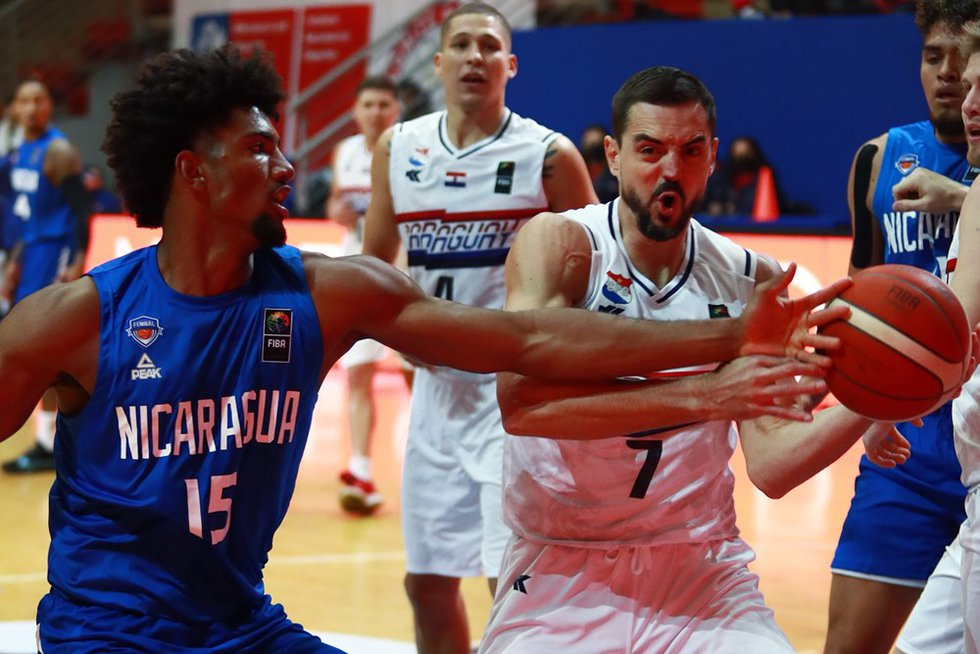 Arkansas State forward Norchad Omier is competing for Nicaragua in the FIBA World Cup Americas...