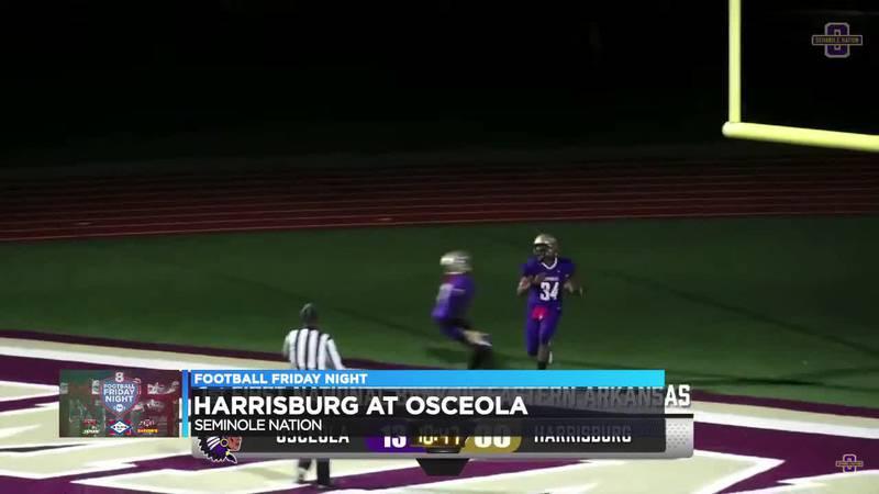 Osceola wins, 53-0