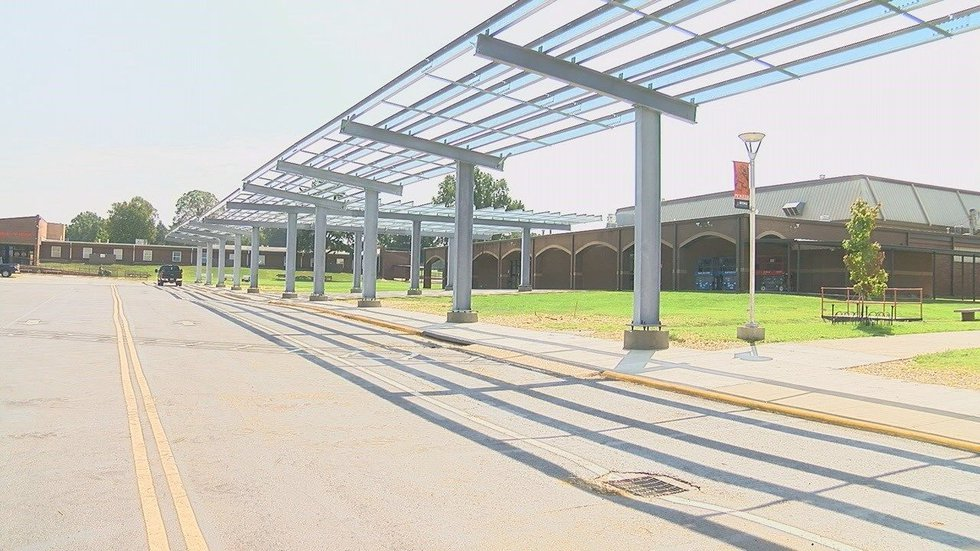 They are the first school district in the state to implement solar energy on campus (Source:...