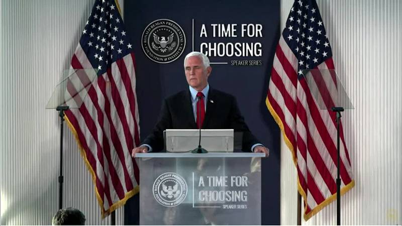 Former Vice President Mike Pence is defending his role in certifying the results of the 2020...