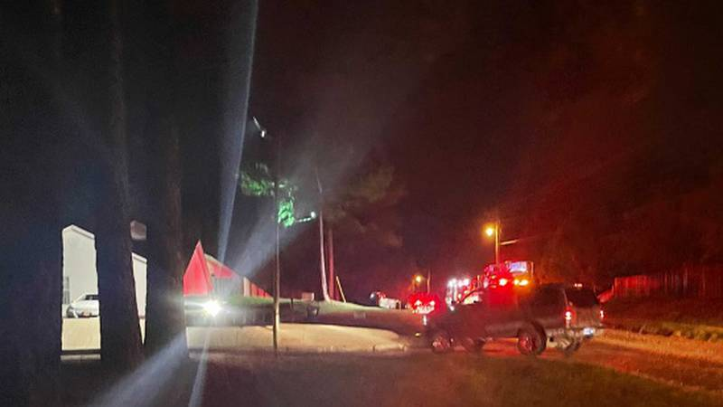 Firefighters responded Friday evening to an apartment in the 4300 block of Aggie Road.