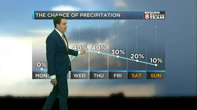 Zach's Monday Morning Forecast (9/27)