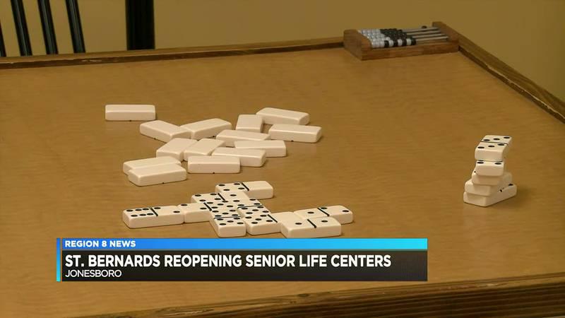 St. Bernards reopening senior life centers