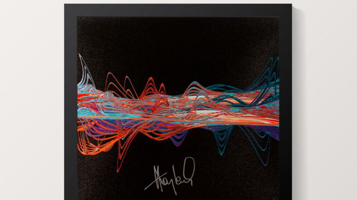 Huey Lewis audio recording art