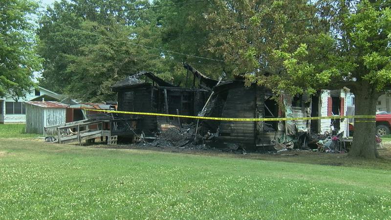 This home was destroyed around midnight Friday morning.