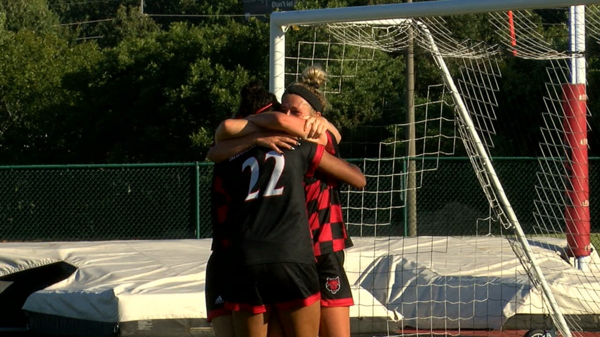 Red Wolves beat Georgia Southern 2-1 in overtime on Thursday.