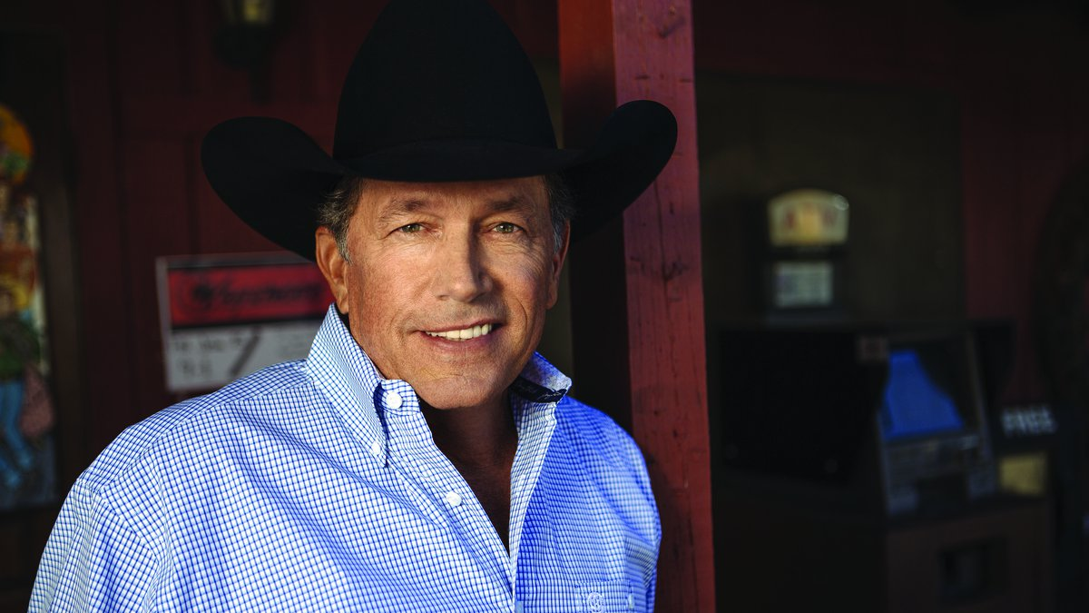"""George Strait might be in """"Amarillo by Morning,"""" but he will definitely be in Arkansas next..."""