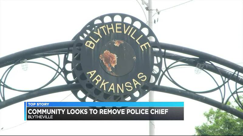 People in Blytheville have expressed their frustrations against the Blytheville Police...