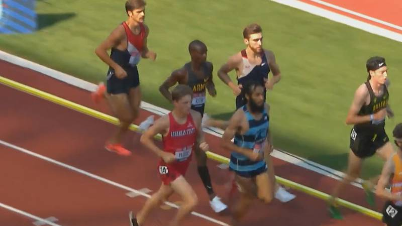 Arkansas State track and field runner Bennett Pascoe finishes 27th in his steeplechase Olympic...