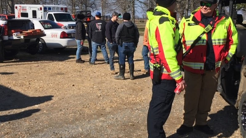 The authorities found the body during a search on Sat. (Source: Mike Mohundro KFVS)