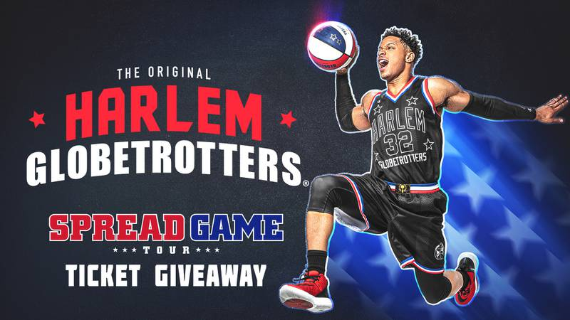 Enter to win tickets to see the Harlem Globetrotters