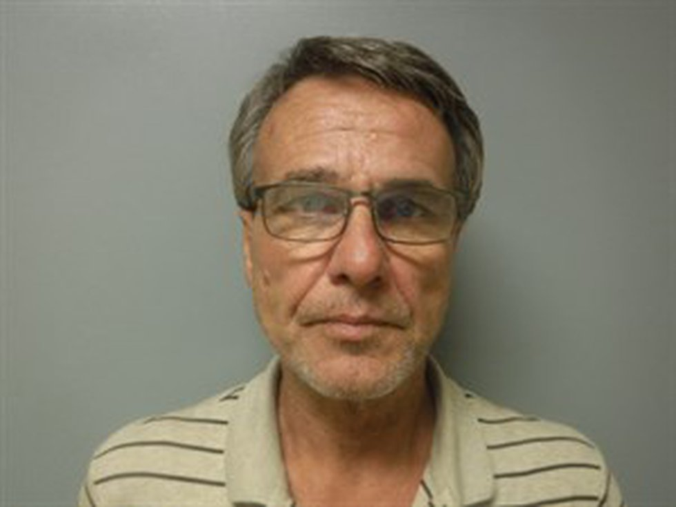 Roger Dale Scroggins, 57, Jonesboro was arrested this week after authorities found more than 40 ...