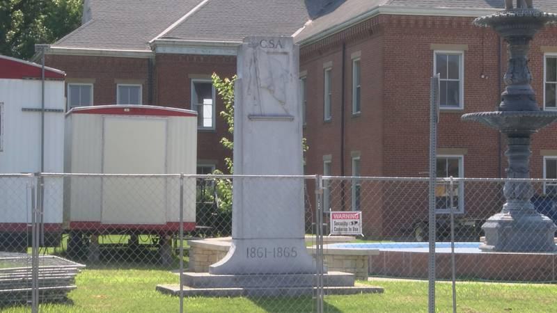 Cape City Council officials plan to remove confederate monument