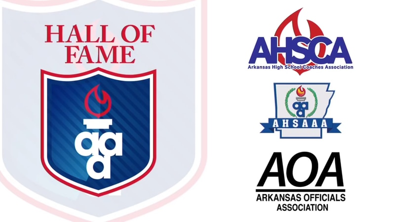 The Arkansas Activities Association hosts a Hall of Fame Banquet for three Natural State...