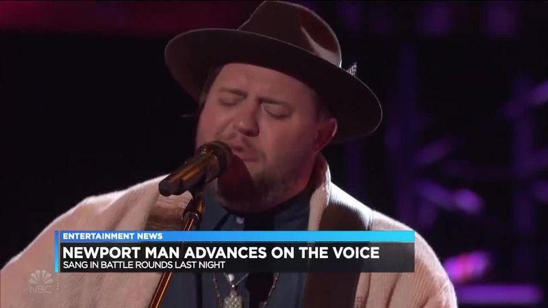 Newport, Ark., native Jim Ranger advances on 'The Voice'