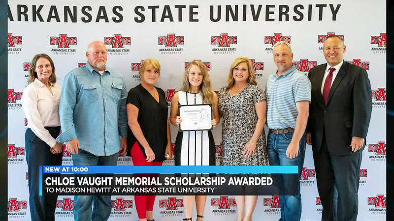 Student receives scholarship named after late NYIT at A-State student