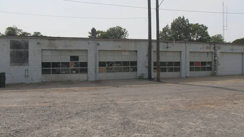The city of Parkin is in the process of building a brand new fire station, something they've...