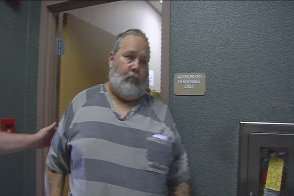 Carl Kelley during past court appearance