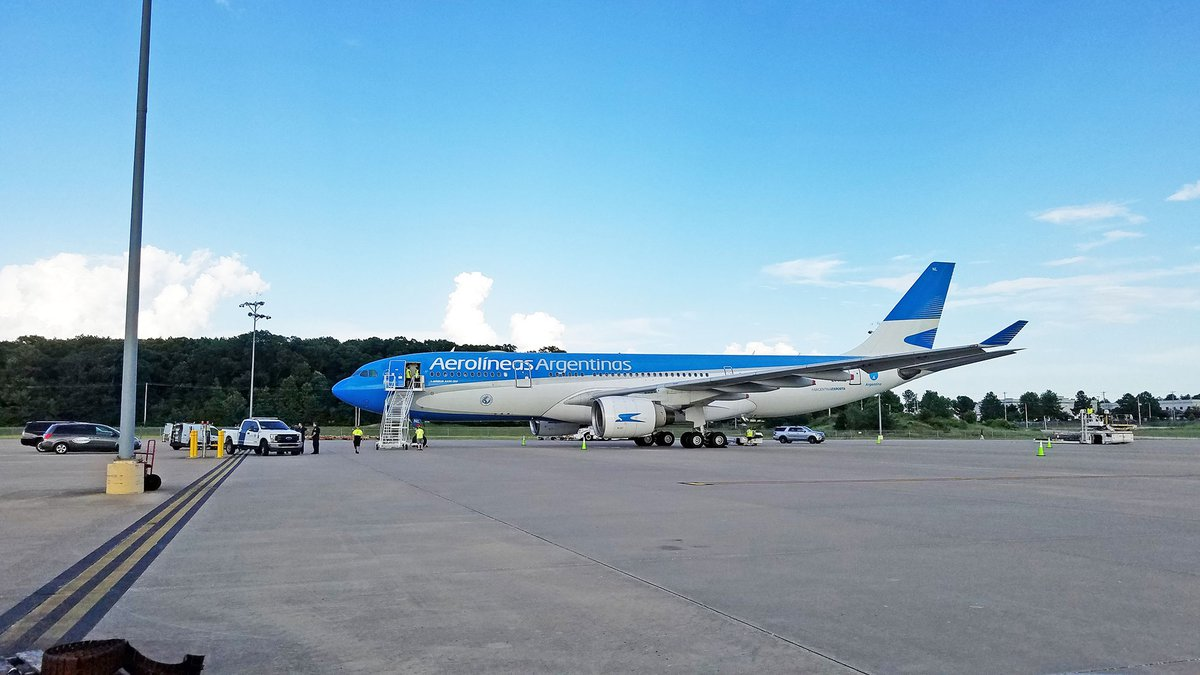 Argentina flight lands in Memphis for COVID vaccines