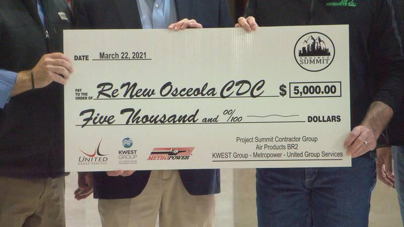 ReNew Osceola recieves $5,000 donation