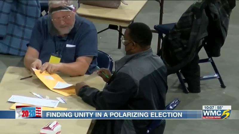 Finding unity in polarizing election