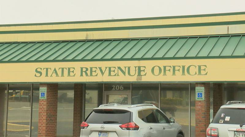 State to reconfigure license plates.