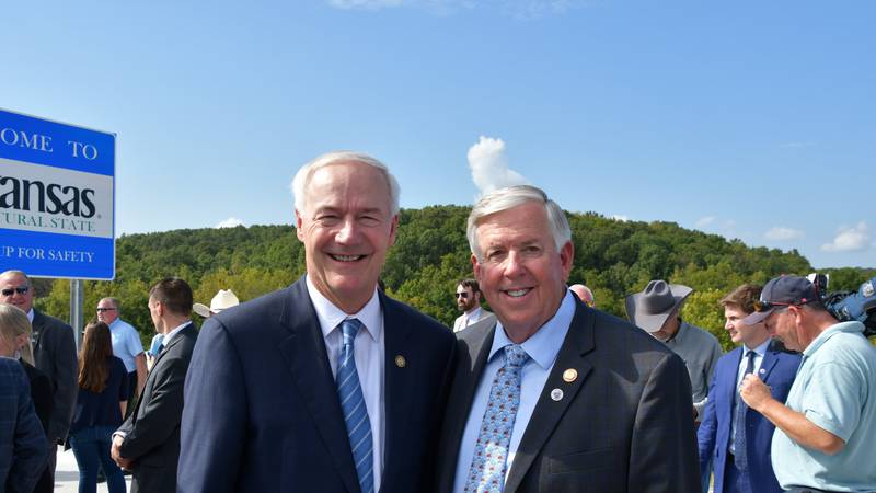 Governors Mike Parson and Asa Hutchinson joined together on Thursday, September 30 at the...
