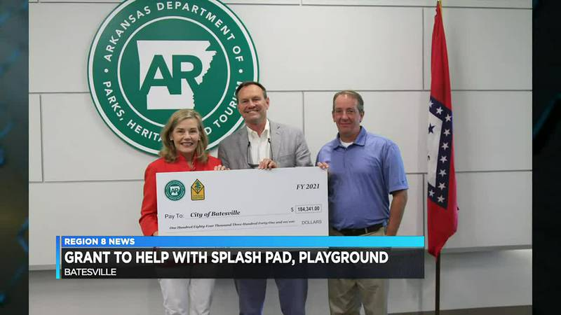 Batesville receives grant for splash pad, playground improvements